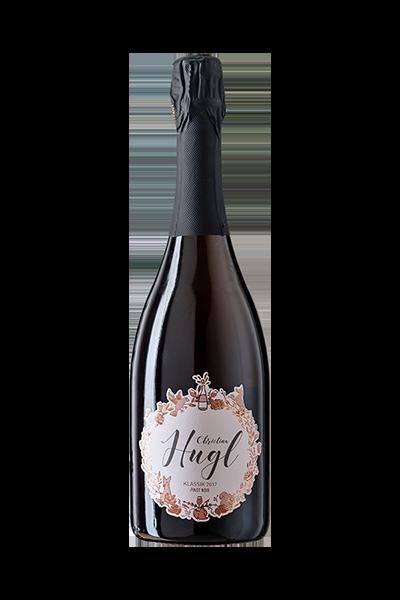 Vinodea | Weinhandlung | Weine von Winzerinnen | Shop | Christina Hugl Sekt Pinot Noir Rosé